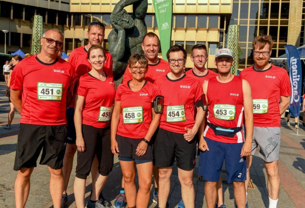 AOK Firmenlauf in Bielefeld am 26. Juni 2019. Foto: Thomas Nitsche